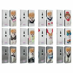 BOO-THE WORLD'S CUTEST DOG PORTRAITS LEATHER BOOK CASE FOR S