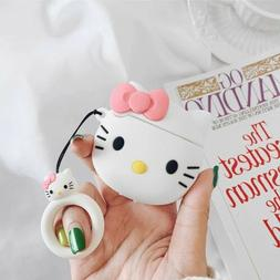 Cartoon Cute Hello Kitty Pink Bow 3d Case Cover For Apple Ai
