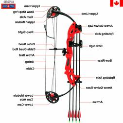 Compound Bow Set, youth compound bow, kids compound bow,