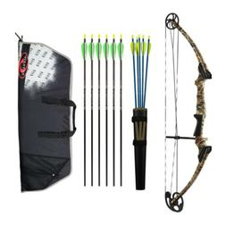 Genesis Archery Original Bow Deluxe Kit with Case and 11 Arr
