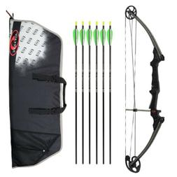 Genesis Archery Original Bow  with 6 NASP Arrows and Case