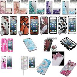 For iPod Touch 5 6 5th & 6th Gen - Tuff Hybrid Case Cover Sk