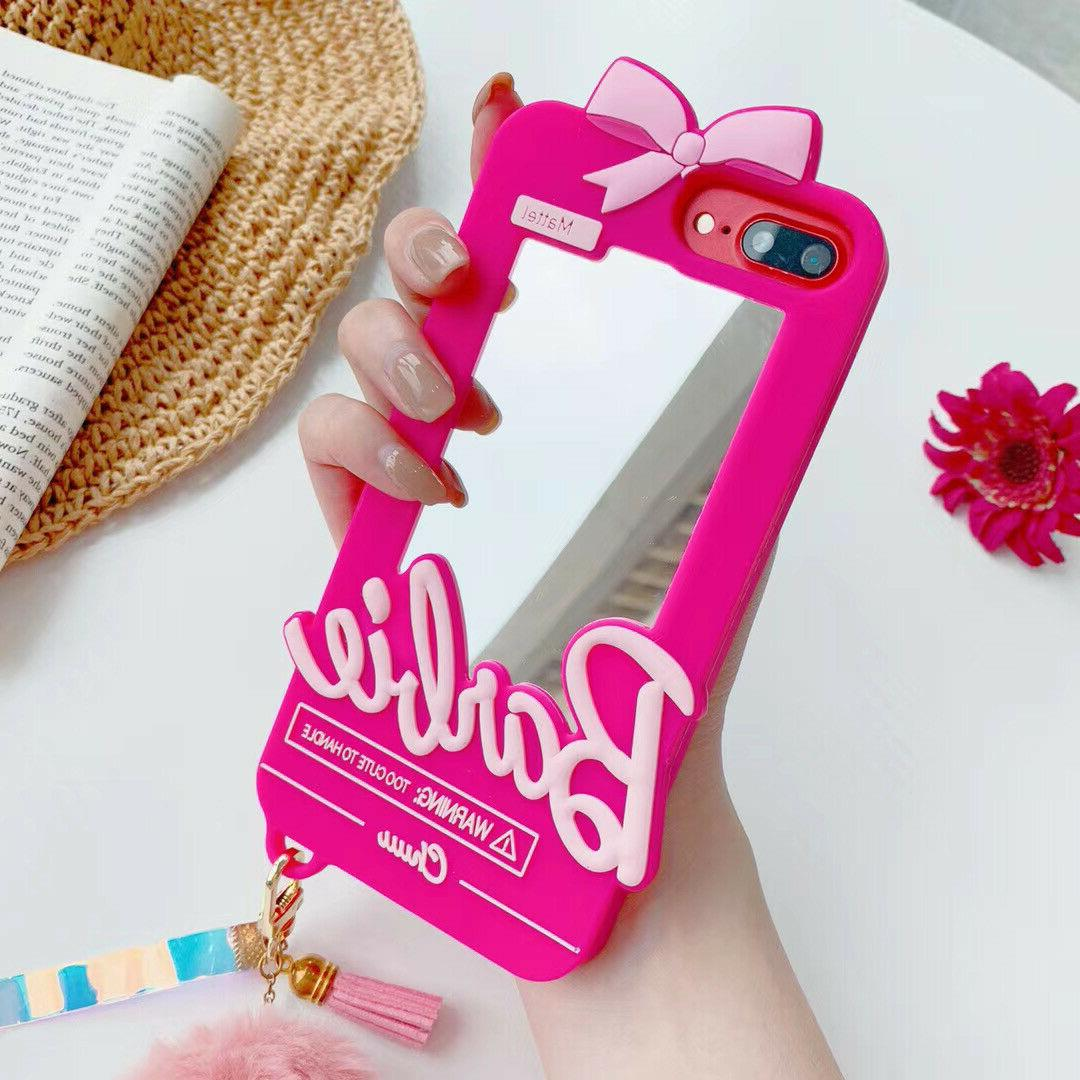 New Barbie Mirror Phone Case For 11 X