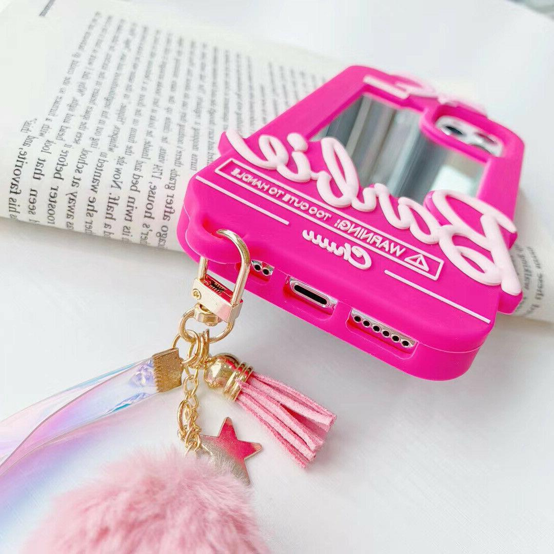 New Pink Bow Mirror Phone Case X