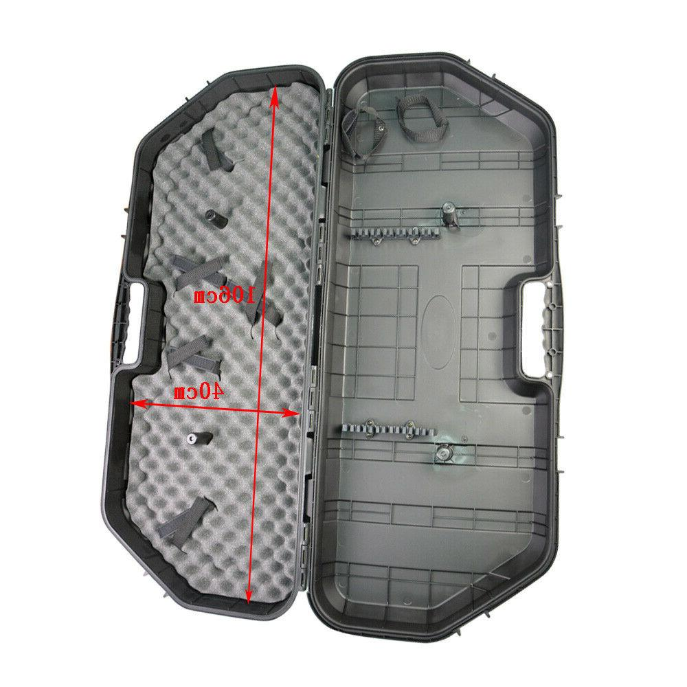 Archery Compound Bow Hard Case Carry Hand Box Covers Holder