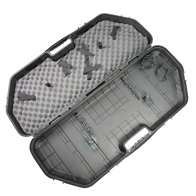 archery compound bow hard case carry hand