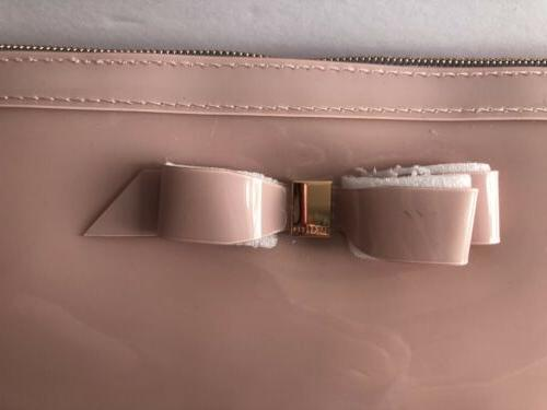TED BAKER Bow Cosmetic/Makeup Beauty Case Pink NWT