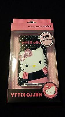 Hello Kitty Case for Ipod Touch 4 Audio Player Pink Sequin B