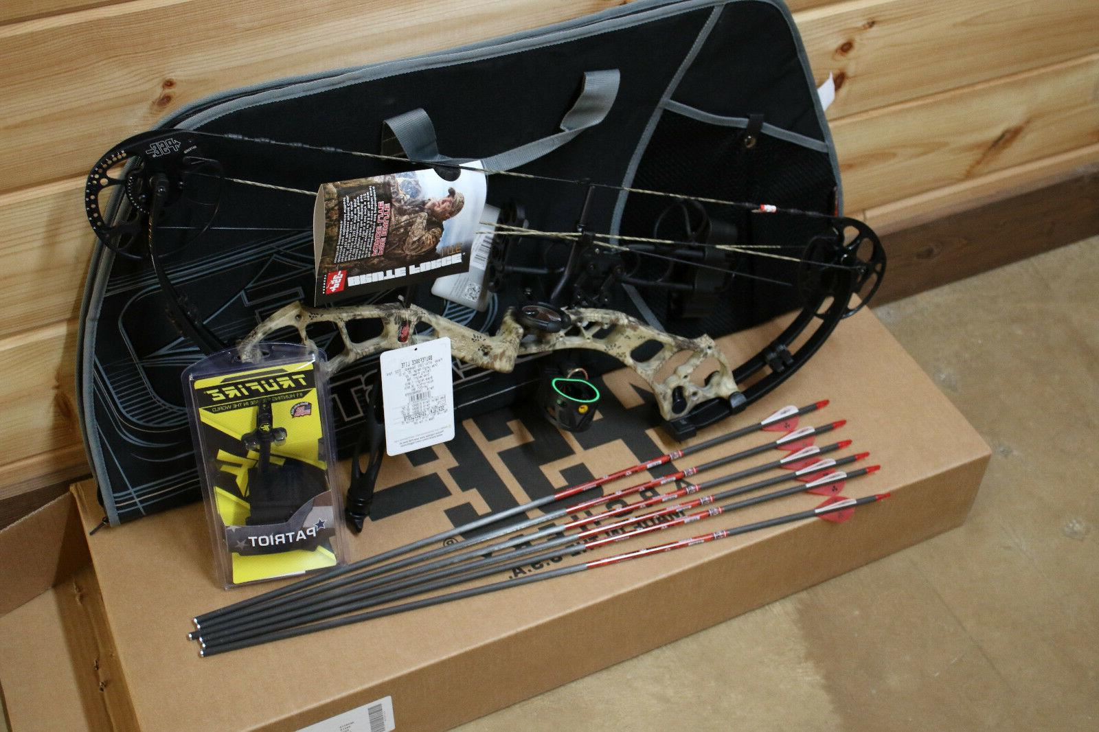 New PSE LITE Camo 70# ULTIMATE Hunting PACKAGE