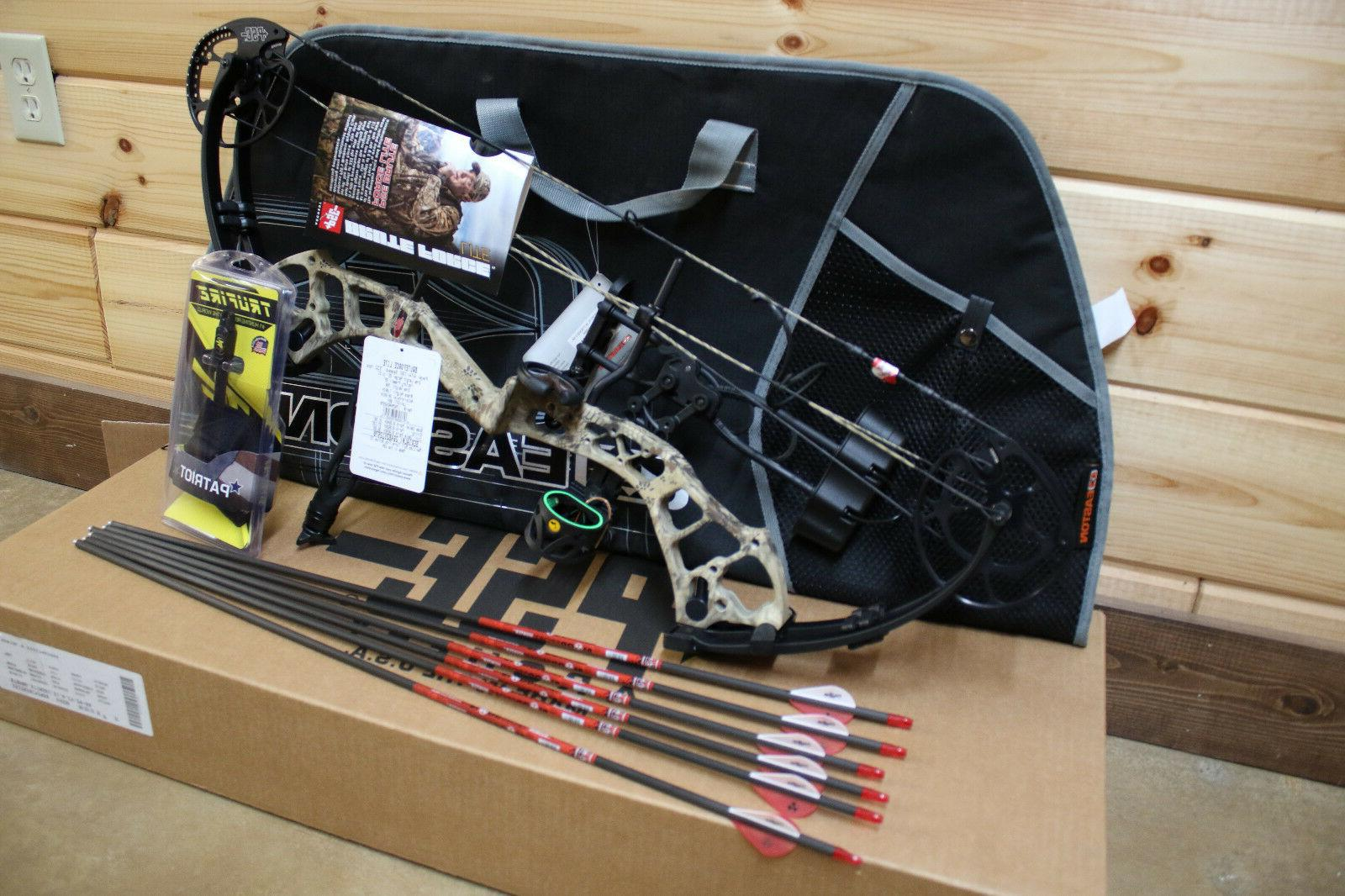 New LITE Bow Camo 70# Hunting PACKAGE