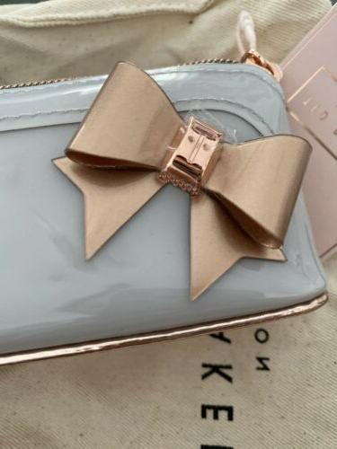NEW TED BAKER Everlee Bow Pencil Case Original Bag Covering