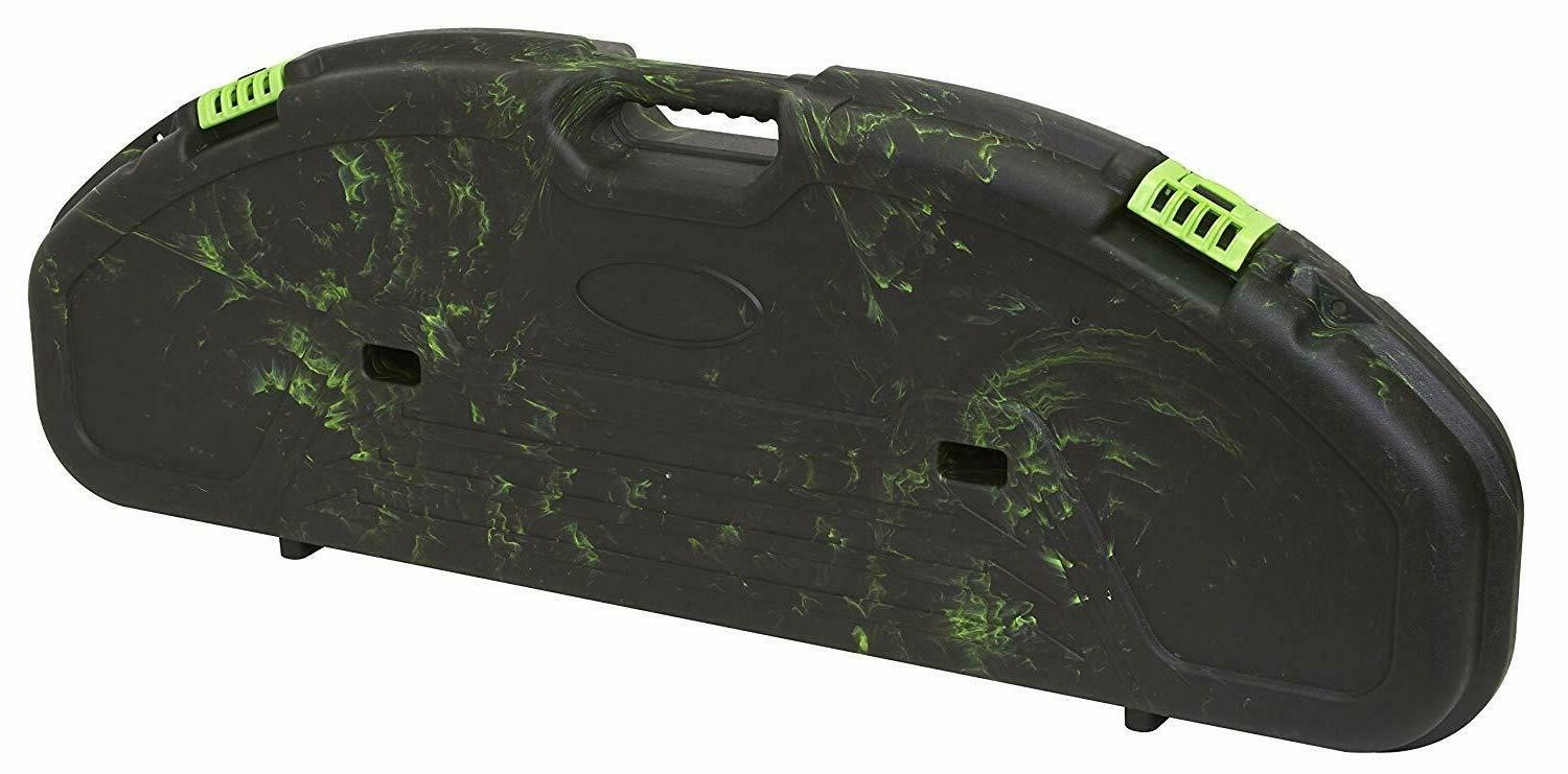 ultra compact hard bow case archery green
