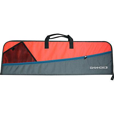 youth bow case gray and orange