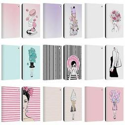 MARTINA ILLUSTRATION LADIES LEATHER BOOK WALLET CASE COVER F