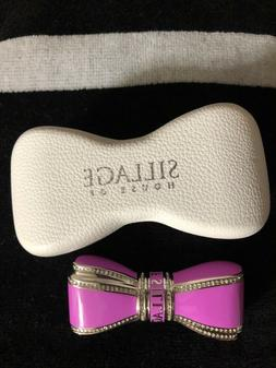 New House of Sillage Bow Lipstick Case