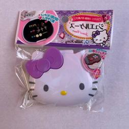 Sanrio Hello Kitty Jewelry Plastic Case - Purple Bow