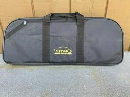 td bow case zippered and foam padded