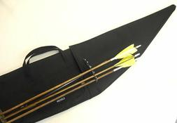 Traditional Archery CASE for STRUNG RECURVE BOW w/ bolt on Q