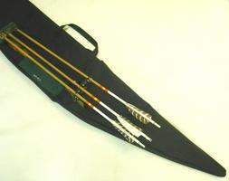 Traditional Archery CASE for STRUNG RECURVE BOW w/ slide on