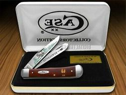 Case XX Bow Hunter Chestnut Bone Trapper 1/600 ##3 Stainless